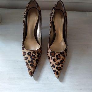 Nine West leopard stileto 4inch